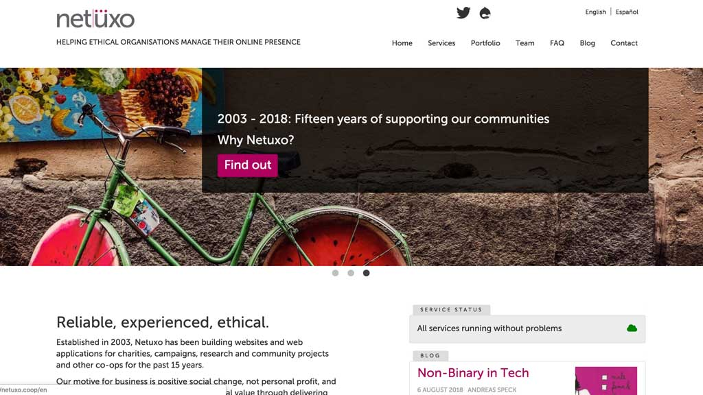 ethical Drupal websites and hosting