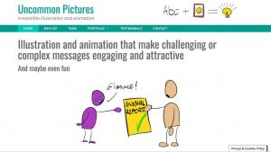illustration and animation for web
